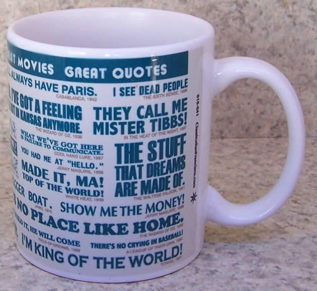 Great Movie Quotes entertainment coffee mug thumbnail
